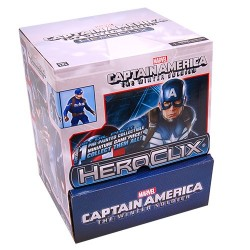Contiene 24 Miniboosters del set MARVEL Heroclix Winter Soldier