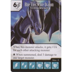 012 - Blue-Eyes White Dragon - Terrifying Behemoth - Common