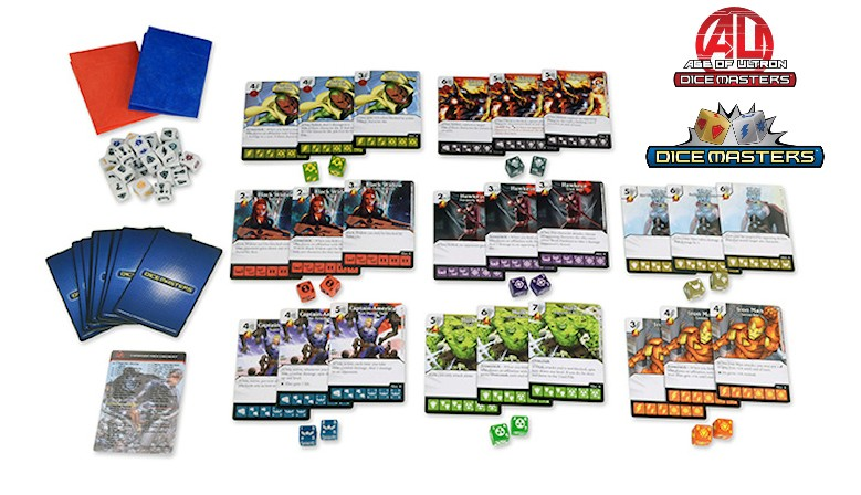 Age Of Ultron Dice Masters